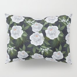 winter rose // repeat pattern Pillow Sham
