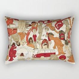 Go Longboard Vintage Rectangular Pillow