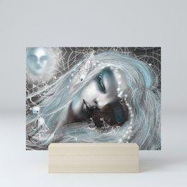Night Sailing Mini Art Print