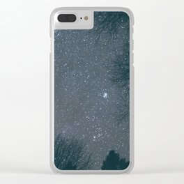 Stars V Clear iPhone Case