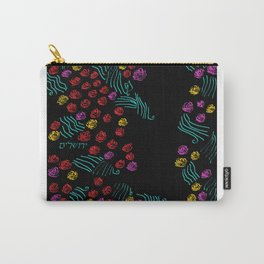 Yerushalyim and Roses Carry-All Pouch