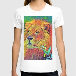 AnimalColor_Lion_005_by_JAMColors T-shirt