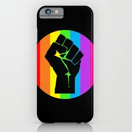 We are Pride | We say NO | Dont turn your back on racism | Black lives mattcismer iPhone Case