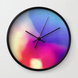 BLUR / coral Wall Clock
