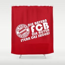 Slogan: Bayern Munchen Shower Curtain