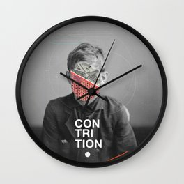 Contrition Wall Clock