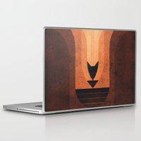 titan Laptop & iPad Skins featuring Titan - Lakes of Titan by Fabled Creative
