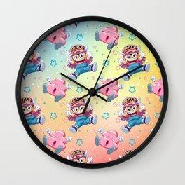 Arale's Pattern Wall Clock