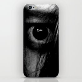 The Girl Behind the Curtain iPhone Skin