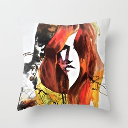 Fleet Magnolia Throw Pillow