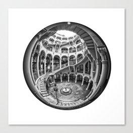 Circular Fisheye #1 Canvas Print
