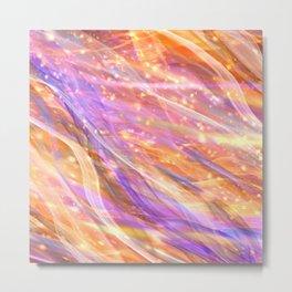 Metaphysical Energy Vibe Ethereal Abstract Metal Print
