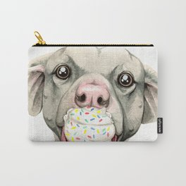 Pittie Cupcake Carry-All Pouch
