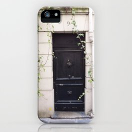 The Black Door at No. 9 iPhone Case