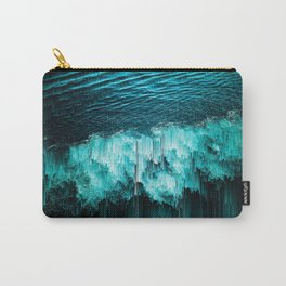 sea glitchy Carry-All Pouch