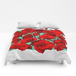 Poppies II Comforters