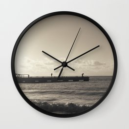 Sea Fishing Wall Clock