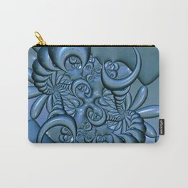 Gunmetal Blue 6 Carry-All Pouch