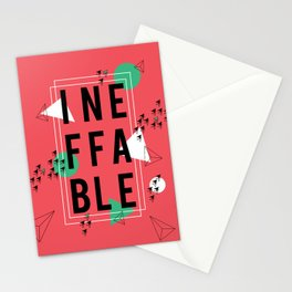 Ineffable Stationery Cards
