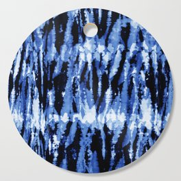 Blue Shibori Z Cutting Board