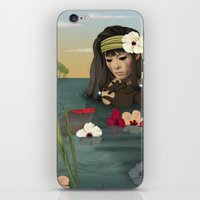 sad iPhone & iPod Skins featuring Sad by ANVIK