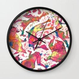 Holi Party Wall Clock