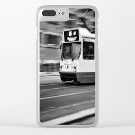 Tramway. Clear iPhone Case