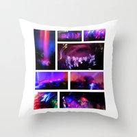 creepy Throw Pillows featuring Creepy by JReisPhotoDesign