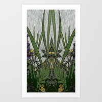 plants Art Prints featuring Plants by Gun Alfsdotter