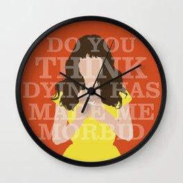 Pushing Daisies - Chuck Wall Clock