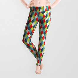 vintage  rhomb  Leggings