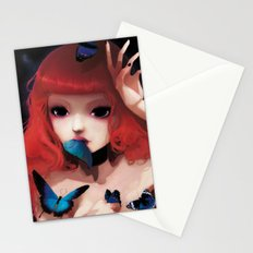 Chew my blue... Stationery Cards