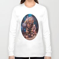 bioshock infinite Long Sleeve T-shirts featuring Bioshock by Emily Blythe Jones
