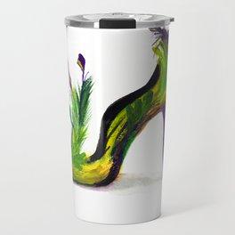 Feathered Heel Travel Mug