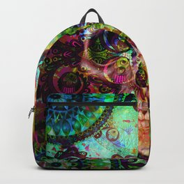 funky skull i Backpack
