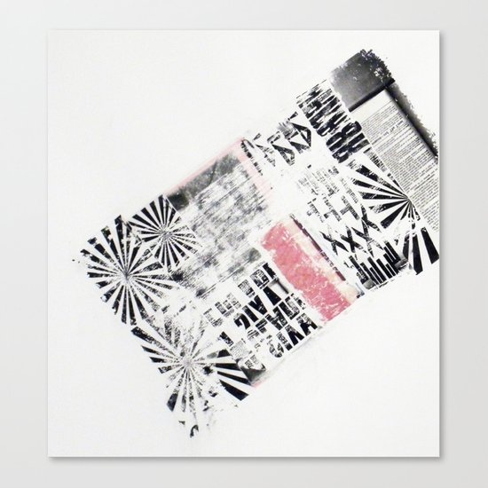RETRO 6 Canvas Print