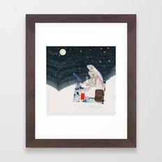 the stargazers Framed Art Print