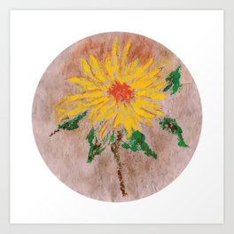 Flor IX (Flower IX) Art Print