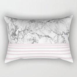 Candy Stripe Marble Rectangular Pillow