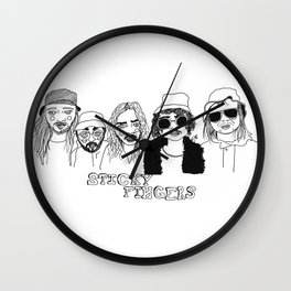 Sticky Fingers  Wall Clock