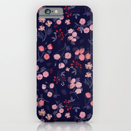 Night of the Roses iPhone Case