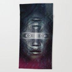Dual Minded Beach Towel