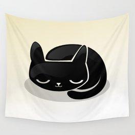Sleeping cat Wall Tapestry