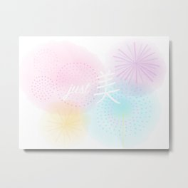 just Beautiful | Mei3 Metal Print