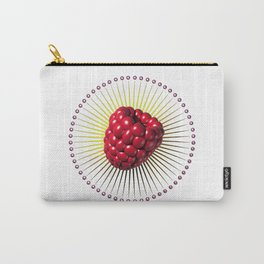 raspberry, sweet and sexy fruit with aureole Carry-All Pouch