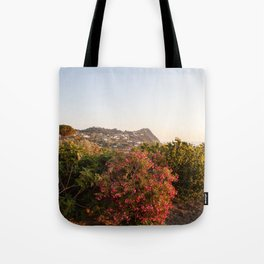 View on Ischia Island Tote Bag
