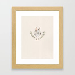Bilby and Branches Framed Art Print
