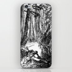 Murder in the Pines iPhone & iPod Skin