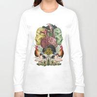 farm Long Sleeve T-shirts featuring ANATOMY: FARM by MANDIATO ART & T-SHIRTS
