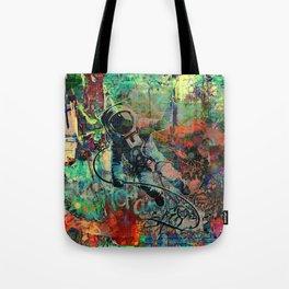 Lost in Urbanity Tote Bag